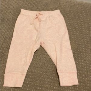 Gap baby pink leggings